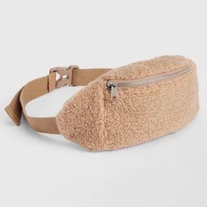 New Gap Sherpa Fleece Belt Bag Fanny Pack